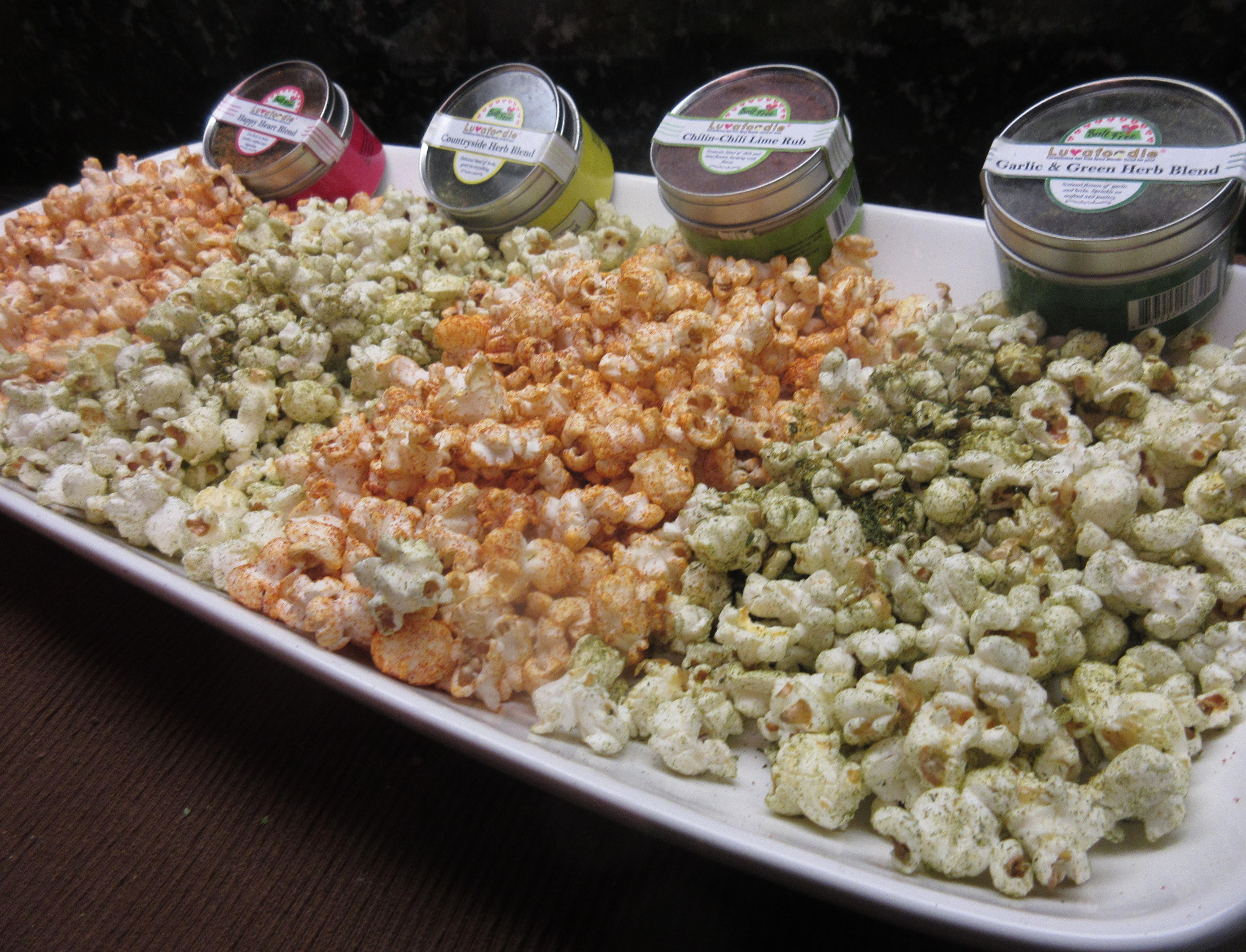#popcorn #heart #healthy #luvafoodie